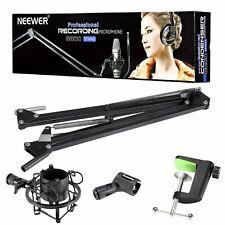 Neewer Adjustable Microphone Suspension Boom Scissor Arm Stand with Universal Mi