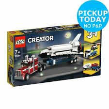 Lego Creator Shuttle Transporter Helicopter & Car - 31091.