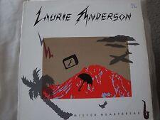 LAURIE ANDERSON MISTER HEARTBREAK VINYL LP SHARKEY'S DAY, GRAVITY'S ANGEL 1984