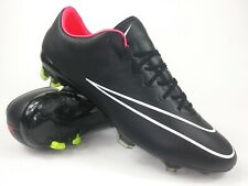 Nike Mens Rare Mercurial Vapor X FG 648553 016 Black Pink Soccer Cleats Boots