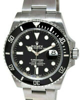 NEW Rolex Submariner Date 41mm Steel Ceramic Mens Watch Box/Papers '20 126610