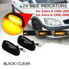 Dynamic LED Side Indicator Repeater Light For Opel For Vauxhall Zafira A Astra G