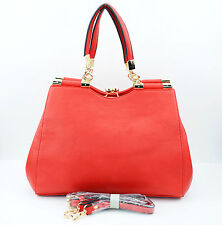 Ladies Designer Leather Style Celebrity Tote Bag Shoulder Satchel Handbag