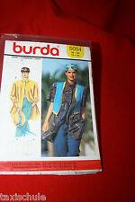 Original 80er Jahre Burda Schnittmuster Bluse Hemd Gr. 38 - 50 Vintage Nähen