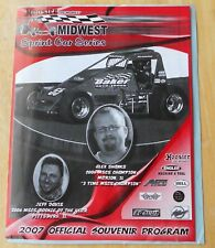 Midwest Sprint Car Series  Auto Race Program  2007