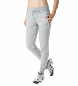 New Balance Women's Essentials Fleece Drawstring Sweatpant (Grey, L)