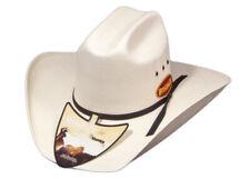 New Hat - Western - Cheyenne White - [Code 135] Cowboy Cowgirl Hat Brigalow