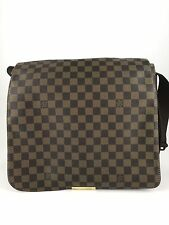 Authentic Louis Vuitton Damier Bastille Shoulder Handbag Bag Brown