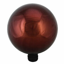 """New listing Northlight 10"""" Berry Red Outdoor Patio Garden Gazing Ball"""