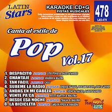 Karaoke Latin Stars 478 Pop Vol. 17