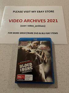 Blood And Bone - Blu Ray - Region B - Rare - Free Postage