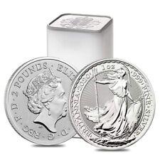 Roll of 25 - 2020 Great Britain 1 oz Silver Britannia Coin .999 Fine BU