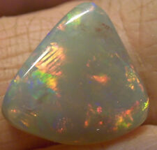 GENUINE CRYSTAL SOLID OPAL FROM AUSTRALIA 16x14x4mm 7ctw