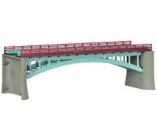 * Kibri Scala N 37668 Ponte a due binari 17,8  cm. nuovo OVP