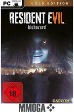 Resident Evil 7 VII - Gold Edition - PC Spiel Code - STEAM Download Key [DE/EU]