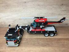 Lego 5590 Whirl N' Wheel Super Truck Model Team Truck mit Helikopter