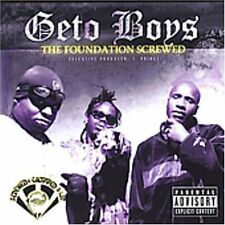 GETO BOYS-FOUNDATION SCREWED  (US IMPORT)  CD NEW