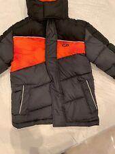 Cb Sports Jacket Boys Charcoal / Orange 5/6