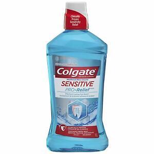 Pro Relief Pro Argin Sensitive Mouthwash 1000ml 33.8 Oz