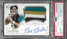 2014 National Treasures Blake Bortles On Card Auto 4 Color Patch Rc 19/99 PSA 10