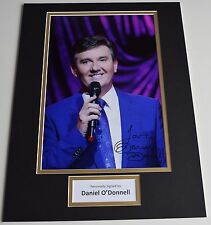 Daniel O'Donnell SIGNED autograph 16x12 photo display Irish Music AFTAL & COA