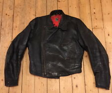 Old antique Motorcycle German leather jacket wayof Luftwaffe flight jacket WWII?