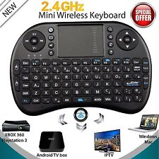 2.4GHz Funk Mini Tastatur Wireless Keyboard Air Mouse Touchpad für TV Android MR