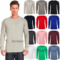 Next Level Unisex Thermal Premium Fit Long Sleeve T-Shirt XS-2XL Tee N8201