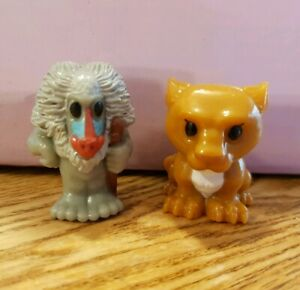 Woolworths Woolies Ooshies Disney Lion King Rafiki & Sarabi combined post avail