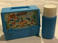 Thermos Canada Smurfs Lunchbox Kit 1980s