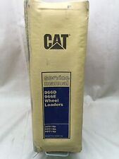 CAT CATERPILLAR 966D 966E WHEEL LOADER SERVICE SHOP REPAIR MANUAL 35S 94X 99Y
