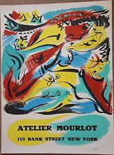 MASSON André Affiche New York Mourlot 1975