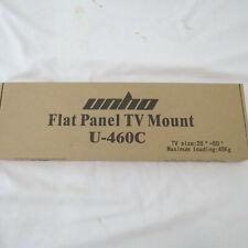 TV Wall Mount Bracket Tilt For 26 32 37 40 45 47 50 Inch Plasma LCD LED 3D 45Kg
