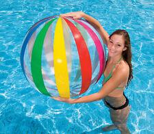 INTEX Wasserball aufblasbarer Ball 107cm Strandball Ball Strand Meer , (K)