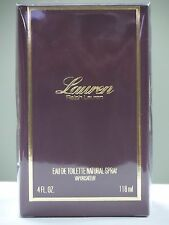 Lauren Perfume by Ralph Lauren, 4 oz EDT Spray for Women NEW