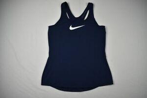 Nike Sleeveless Shirt Women's Navy Dri-Fit NEW Multiple Sizes