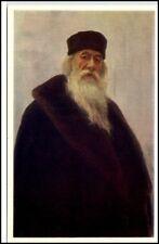 Künstlerkarte Sowjetunion Hya Repin Porträt V. Stasov