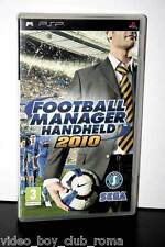 FOOTBALL MANAGER HANDHELD 2010 GIOCO USATO OTTIMO STATO VERSIONE ITA FR1 31872