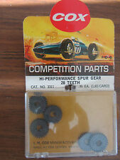 NOS Vintage COX Slot Car Model HI Performance Spur Gear -28T NEW IN BLISTER PACK