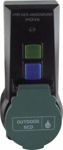 REV Ritter Personenschutzadapter RCD   Adapterstecker