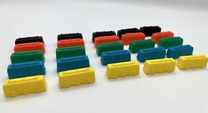 TICKET TO RIDE game Replacement Trains Pieces Parts. 5 Of One Color. You Choose
