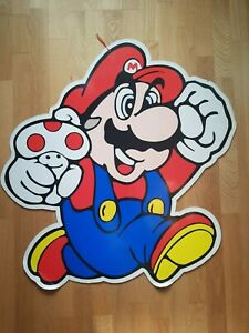 Nintendo Super Mario Sign Store Display