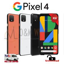 NEW Google Pixel 4 64GB 128GB⚫Black⚪White🟠Orange - G020I Factory Unlocked