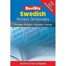 Swedish Pocket Dictionary : Swedish-English/Engelsk-Svensk (2007, Paperback)