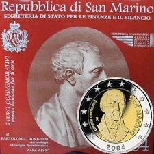Pièces euro de Saint-Marin année 2004
