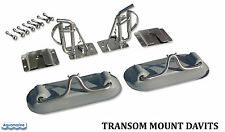 Transom Mount Davits for Inflatable boat dinghy - Transom Mount