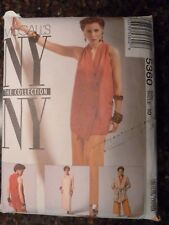 McCalls 5360 NY The Collection Original 1991 Pattern size 10 (Partially) Cut