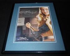2008 Nicole Miller 3rd Date Lingerie 11x14 Framed ORIGINAL Advertisement