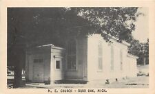 Burr Oak Michigan~Shade Overtakes Narthex of United Methodist Episcopal~1940s