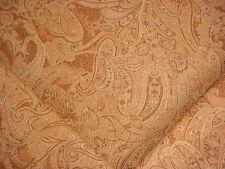 15Y Laura Ashley Portfolio Sandon Sienna Printed Linen Floral Upholstery Fabric